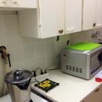 pôvodný stav kuchynskej linky...