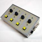 LED driver v prevedení pultového zariadenia